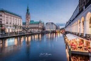 Rathausfleet Hamburg