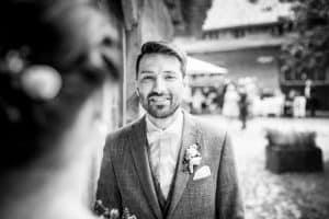 Brautigam aus der Sicht der Braut