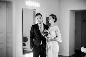 Braupaar im Standesamt Altona