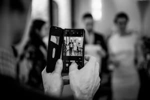 Brautpaar im Standesamt Altona